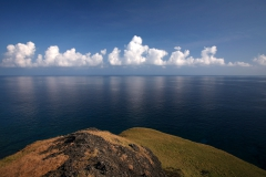 綠島海岸(Sea view from a rock at Green Island)